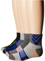 Jefferies Socks Tech Sport Half Cushion Quarter Socks 6-Pair Pack Boys Shoes