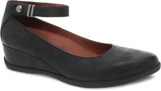 Dansko Women's Leather Adjustable Wedges - Shay lee