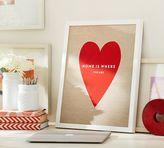 Pottery Barn Stephanie Sterjovski Framed Print: Home is Where You Are