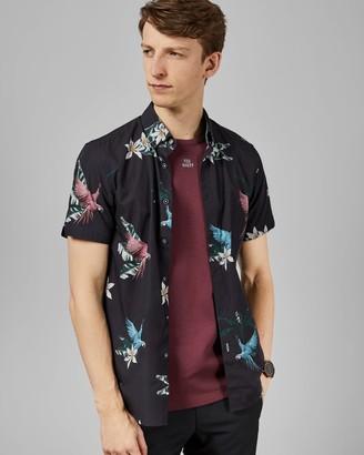 Ted Baker Parrot Print Shirt