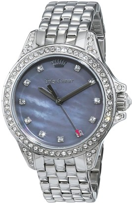 Juicy Couture Women's Analogue Quartz Watch with Stainless Steel Strap 1901491