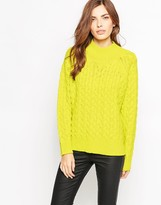 French Connection Glinda High Neck Sweater