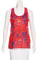 Carven Sleeveless Printed Top