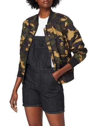 Urban Classics Women's Ladies Light Bomber Jacket Camo