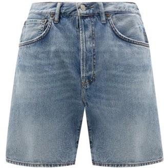 Acne Studios 1996 Denim Shorts - Mens - Light Blue