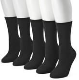 Sonoma Goods For Life Women's SONOMA Goods for Life 5-pk. Solid Crew Socks