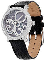Judith Ripka Stainless Mother-of-Pearl ZodiacWatch