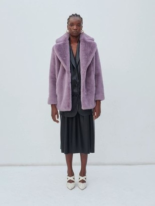 JAKKE - Heather Coat Lavender - XS