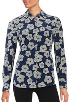 Trina Turk Kadence Floral Silk Top