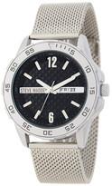 Steve Madden Women&s Stainless Steel Mesh Bracelet Watch