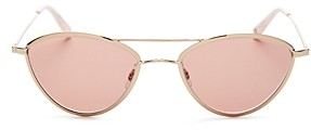 Garrett Leight Women's Breeze Brow Bar Cat Eye Sunglasses, 51mm
