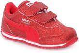 Puma Girls Whirlwind Glitz Toddler Sneaker