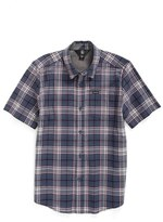 Volcom Toddler Boy's Kane Plaid Shirt