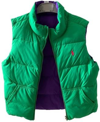 Polo Ralph Lauren Green Polyester Jackets & Coats