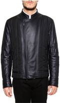 Fendi Quilted Leather And Nylon Jacket
