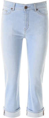 Max Mara Cropped Denim Jeans