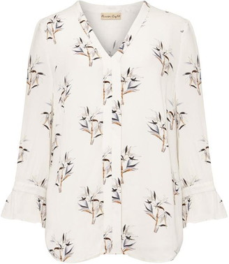 Phase Eight Winen Bamboo Print Blouse