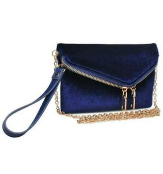 Urban Expressions Navy Velvet Lucy