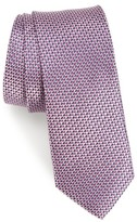 Nordstrom Men's Iris Solid Silk Skinny Tie