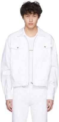 Random Identities White Denim Jacket