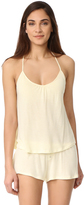 Eberjey Love Letter T Back Shelf Cami