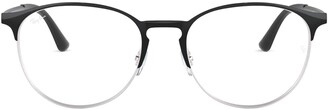 Ray-Ban Unisex's Rx6375 Round Metal Eyeglass Frames Prescription Eyewear