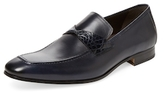 Mezlan Leather Plain-Toe Loafer