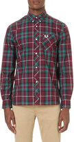 Fred Perry Reissue long sleeved tartan cotton shirt