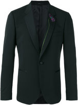 Paul Smith floral embroidered blazer - men - Spandex/Elastane/Viscose/Wool - 40