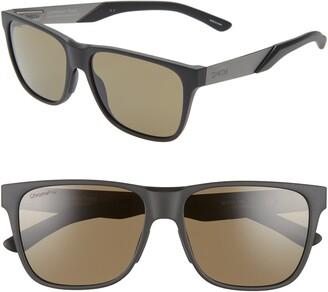 Smith Lowdown Steel 56mm ChromaPop(TM) Polarized Square Sunglasses