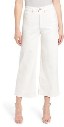 AG Jeans Rosie High Waist Crop Wide Leg Jeans