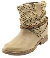 Coolway Clea Women Round Toe Leather Tan Ankle Boot.