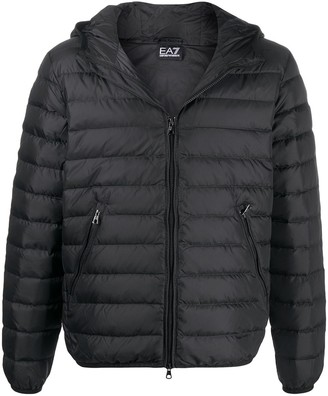 EA7 Emporio Armani Padded Zipped Jacket