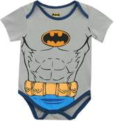 Batman Muscle Chest DC Comics Baby Infant Creeper Romper Snapsuit