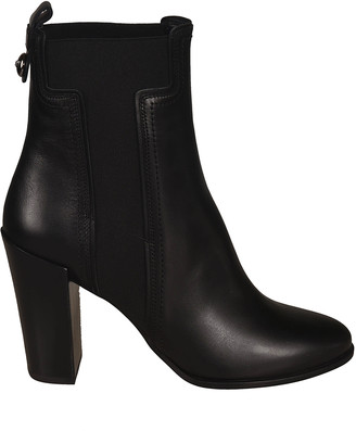Tod's Tods High Block Heel Elastic Side Boots