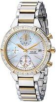 Seiko Women's SSC866 Solar Two-Tone Stainless Steel Watch