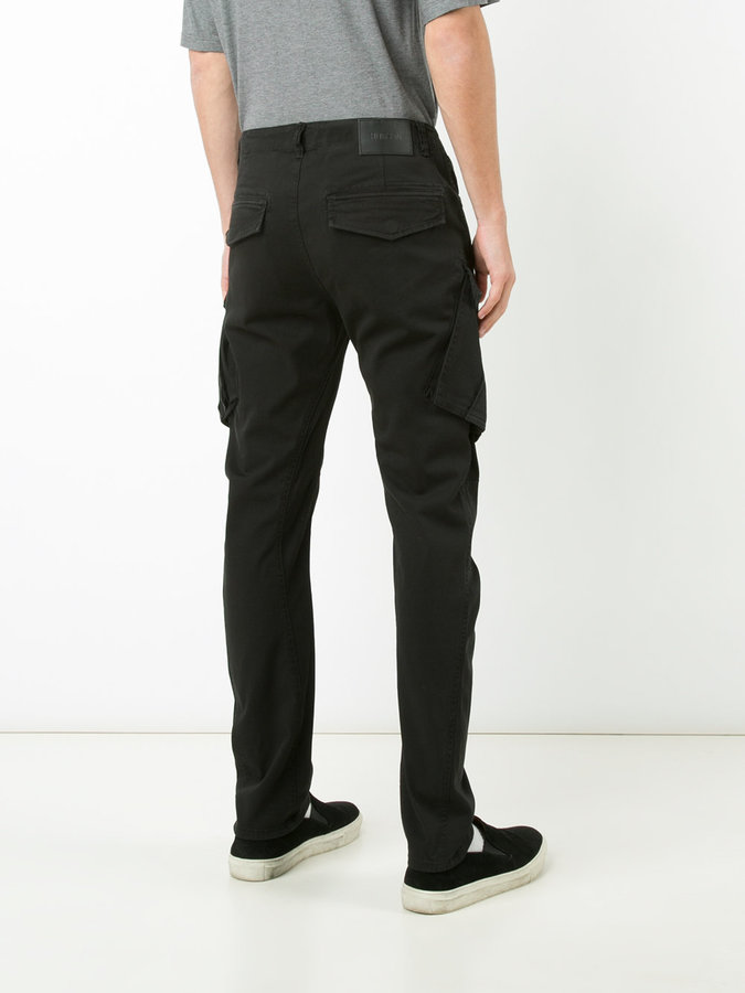 Hudson side pockets tapered trousers