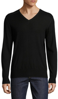 John Varvatos V-Neck Wool Sweater