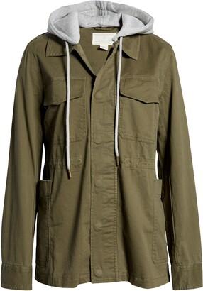 Caslon Hooded Utility Jacket