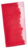 S4 S/4 Dip-Dye Napkins, Red