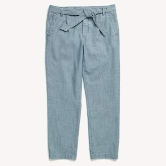 Tommy Hilfiger Belted Chambray Chino
