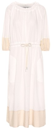 Lee Mathews Lilian cotton midi dress