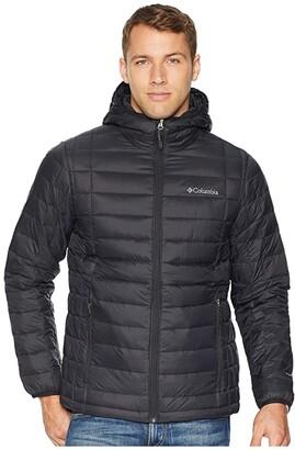 Columbia Voodoo Falls 590 TurboDown Hooded Jacket (Black) Men's Coat