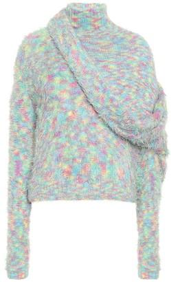 Y/Project Asymmetric turtleneck sweater