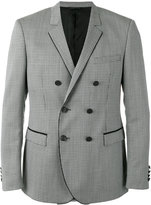 Tonello piped trim blazer - men - Silk/Cupro/Mohair/Virgin Wool - 52