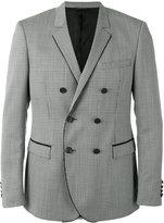 Tonello piped trim blazer - men - Silk/Cupro/Mohair/Virgin Wool - 52