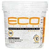 Ecoco EcoStyler Professional Styling Gel Krystal, 32 oz (Pack of 3)