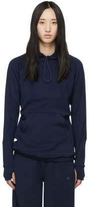 LNDR Navy Smooth Tech Hoodie