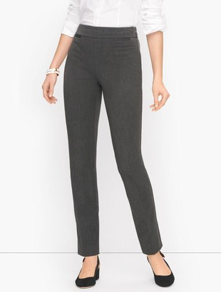 Talbots Refined Bi-Stretch Straight Leg Pants - Curvy Fit