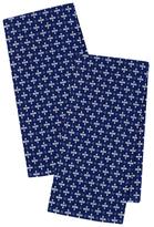 Indigo Plus Dobby Dish Towels (Set of 4)